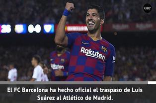 Luis Suárez dice adiós al Barcelona y se muda a Madrid