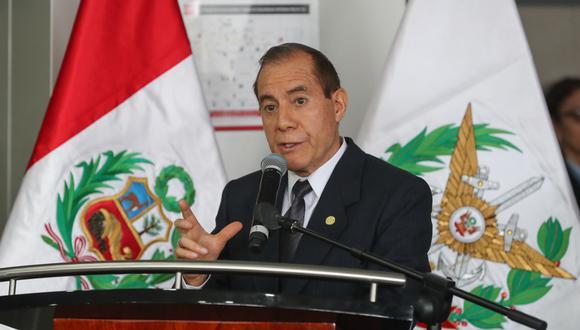 Ministro de Defensa expresó su respaldo al Ejército Peruano tras la detención preliminar de militares acusados del presunto robo de combustible. (Foto: Difusión)