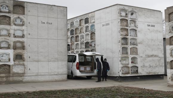 La cantidad de fallecidos por COVID-19 en el país aumenta cada día. (Foto: César Campos/Referencial-GEC)