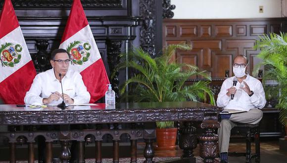Víctor Zamora se desempeñó como ministro de Salud en plena pandemia por el coronavirus (Foto: Presidencia)