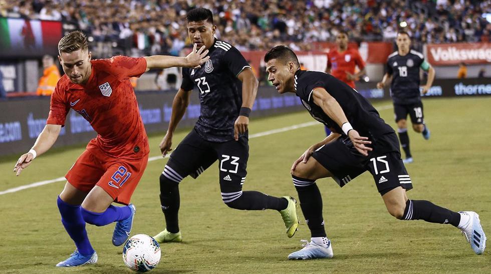 México vs. Estados Unidos. (Foto: AFP)