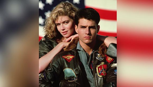 """Tom Cruise y  Kelly McGillis en escena de """"Top Gun"""". (Foto: AP/Paramount Pictures)"""