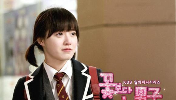 "Goo Hye Sun dio vida a Geum Jan Di en el popular dorama ""Boys Over Flowers"". Foto: KBS"