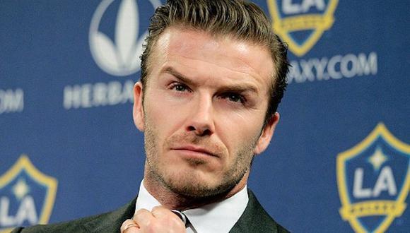 David Beckham, en su momento, fue uno de los mejores pateadores de tiros libres. (Foto: AP)