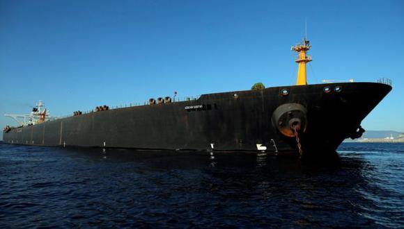El Adrian Darya-1 está en el centro de la disputa diplomática entre EE.UU. y otros países de Occidente e Irán. Foto: Reuters, vía BBC Mundo