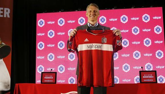 Bastian Schweinsteiger llegó a la MLS y firmó por Chicago Fire