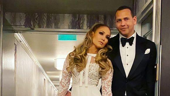 Jennifer Lopez retó a Alex Rodríguez a duelo de baile. (Fotos: Instagram)