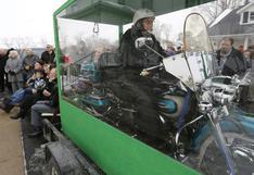 En moto hasta el más allá