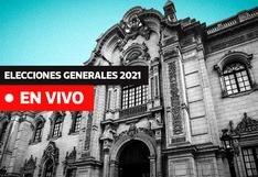Elecciones Generales Perú 2021 EN VIVO: Sigue aquí las últimas noticias tras la votación del domingo