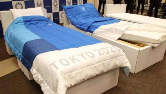 Habrán camas 'antisexo' en los Juegos Olímpicos de Tokio 2020 para prevenir el contagio de coronavirus. (Foto: La Vanguardia)