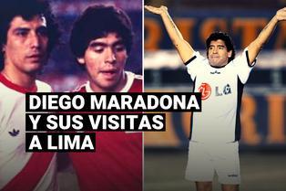 Diego Armando Maradona: un breve repaso de sus visitas a Lima