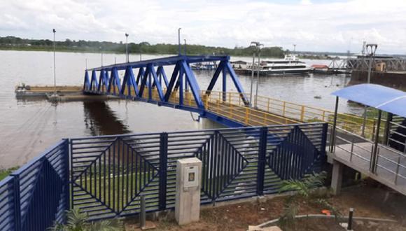 La moderna instalación que cuenta con seis paraderos desde Iquitos hasta Santa Rosa, ha tenido una inversión de 17 millones de soles y se encuentra en la etapa de recepción de la obra (Andina)