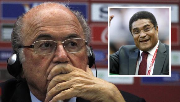 """""""El fútbol ha perdido una leyenda"""" por muerte de Eusebio, asegura Blatter"""