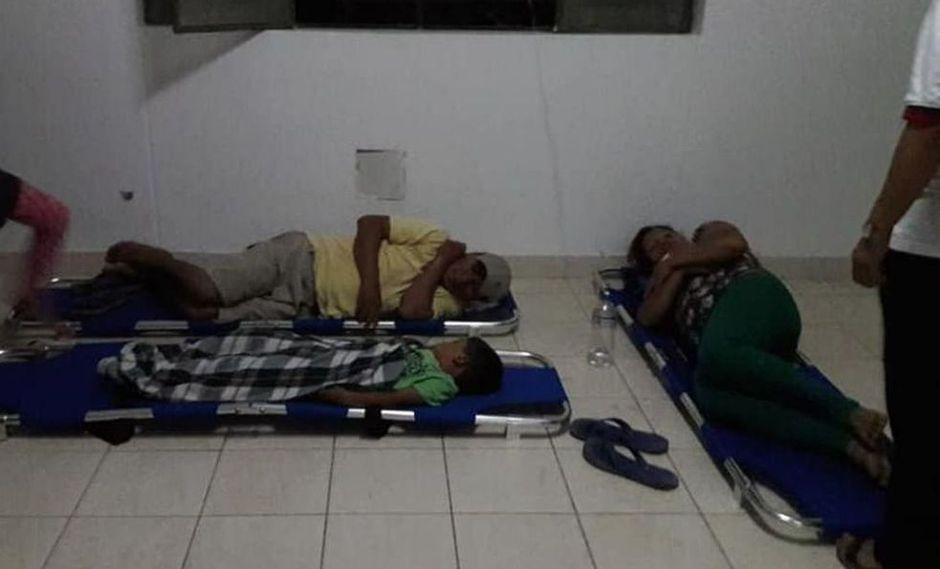 Este suceso se registró ayer en horas de la noche. Los afectados fueron trasladados al centro de salud de Nueva Arica, mientras que las víctimas más delicadas fueron derivadas al hospital de Chiclayo. (Foto: Kalidad Lunahuana)