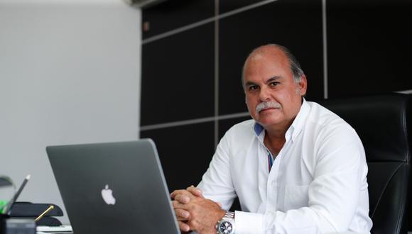 Adolfo Muro comenta que el 95% de los envíos peruanos hacia las Antillas francesas provienen de Frozen Products Corporation. (Foto: Hugo Pérez/GEC)