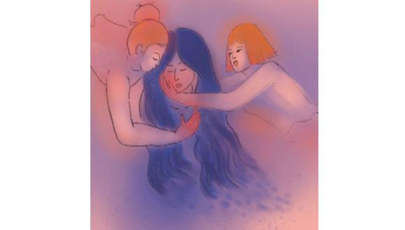 ¿Somos hermanas de verdad?, por Luciana Olivares. ILUSTRACIÓN: Nadia Santos.
