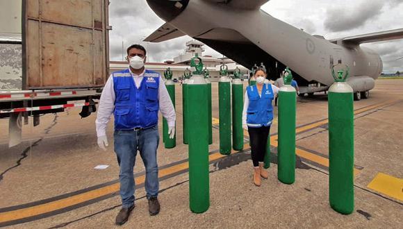 """""""El oxígeno es uno solo. No hay diferencia entre oxígeno medicinal e industrial, salvo en el grado de pureza. El medicinal requiere un mínimo de 93%, y las plantas industriales producen entre 97% y 99,9%"""", explica Arturo Berastain, presidente del Capítulo de Ingeniería Metalúrgica de Lima. (Foto: Minsa)"""