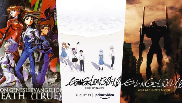"""¿En qué orden ver """"Evangelion""""?."""