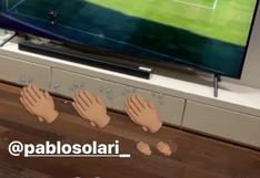 Colo Colo vs. U. de Concepción: Arturo Vidal y su eufórica celebración tras el gol de Solari para el Cacique   VIDEO