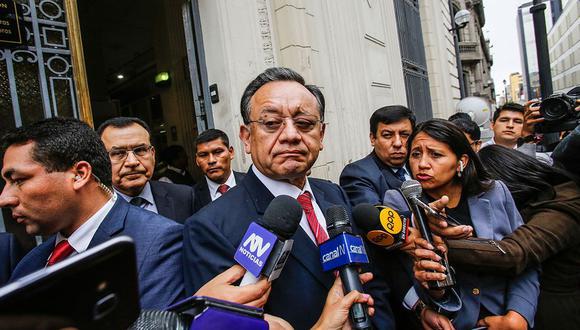 Alarcón, actual presidente de la Comisión de Fiscalización, envió este jueves un oficio al presidente del Congreso. (Foto: GEC)