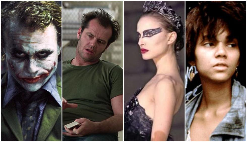 Heath Ledger, Jack Nicholson, Natalie Portman y Halle Berry. (Foto: Difusión)