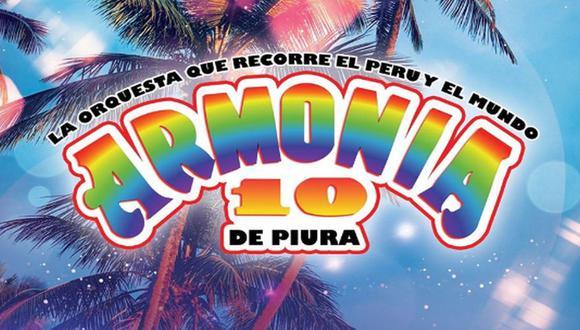 """""""Armonía 10"""" sobre críticas por show presencial: """"Me gustaría que se pongan en los zapatos de los músicos"""". (Foto: @Armonía10)."""