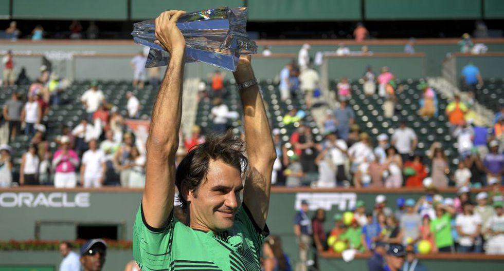 Federer se consagró otra vez en Indian Wells: fotos de la final - 14