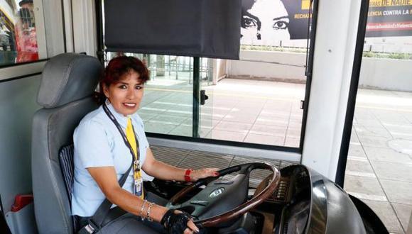 La Municipalidad de Lima remarcó que Dora Bacalla Calongos trabaja hace siete años en el Metropolitano. (Facebook)
