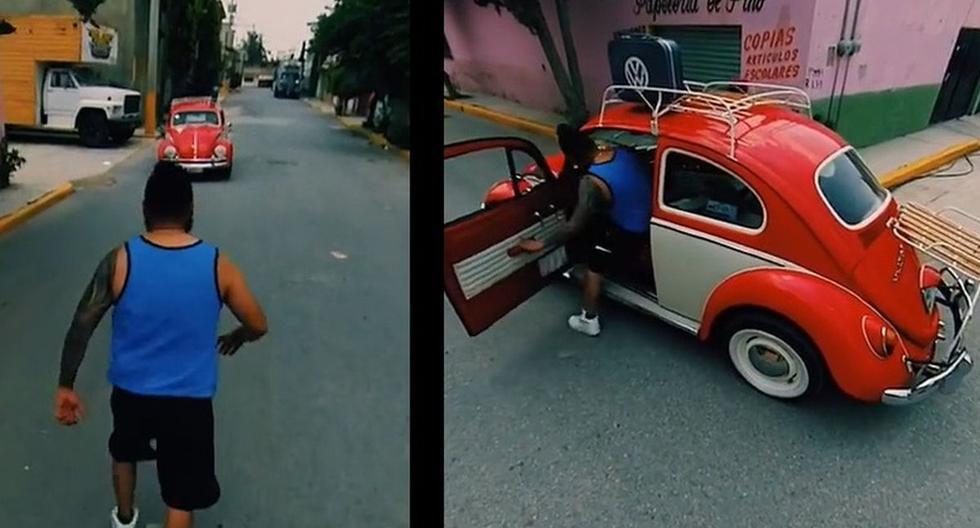 Jóvenes recrean asalto en GTA y se convierten en virales. (Foto: Captura Facebook)