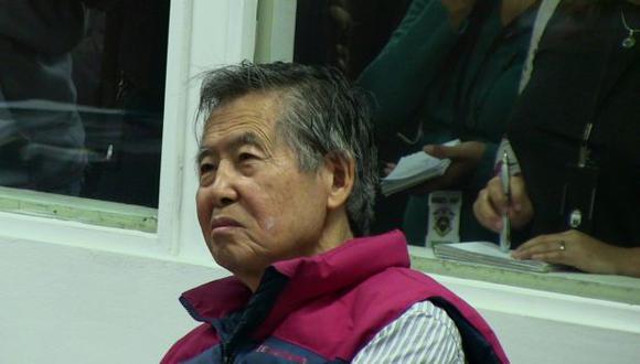 Fujimori: Sala evaluará mañana pedido de arresto domiciliario