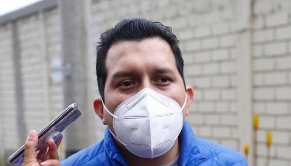 José Luna Morales acusó al Gobierno de la detención de su padre, josé Luna Gálvez. (Foto: HugoCurotto / @photo.gec)