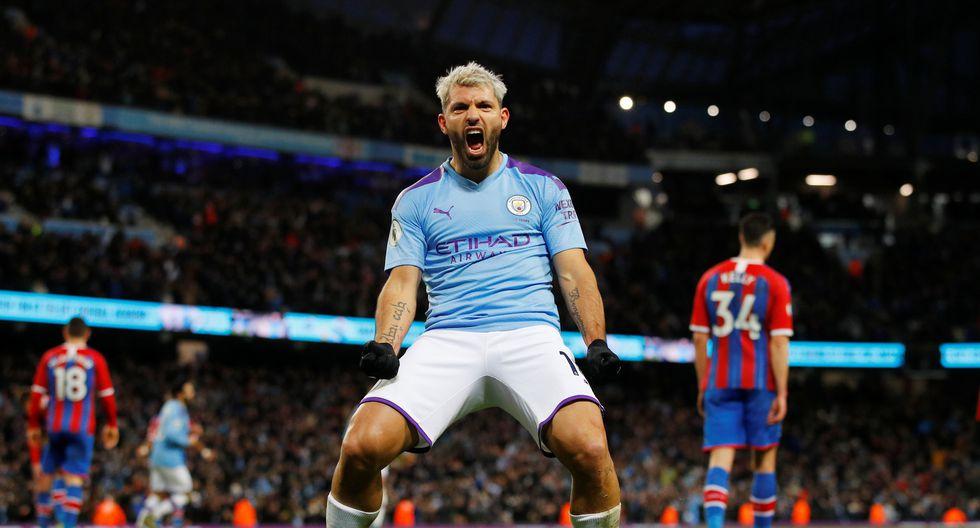 Estas son las mejores fotografías del encuentro entre el Manchester City y el Crystal Palace en la Premier League. REUTERS/Phil Noble