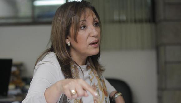 La exprocuradora Julia Príncipe es parte del equipo técnico de Avanza País. Ella estará a cargo de la reforma anticorrupción. (Foto: El Comercio)