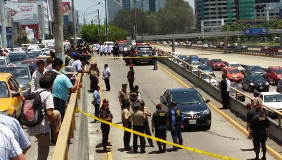 Vía Expresa: reconstruyen asalto en que cambista murió baleado