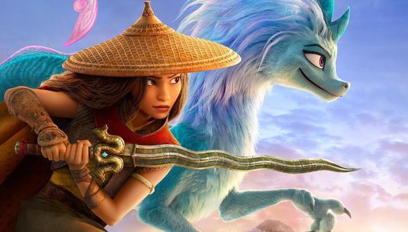"""Imagen promocional de """"Raya y el ultimo dragón"""", película animada de próximo estreno. Foto: Disney."""