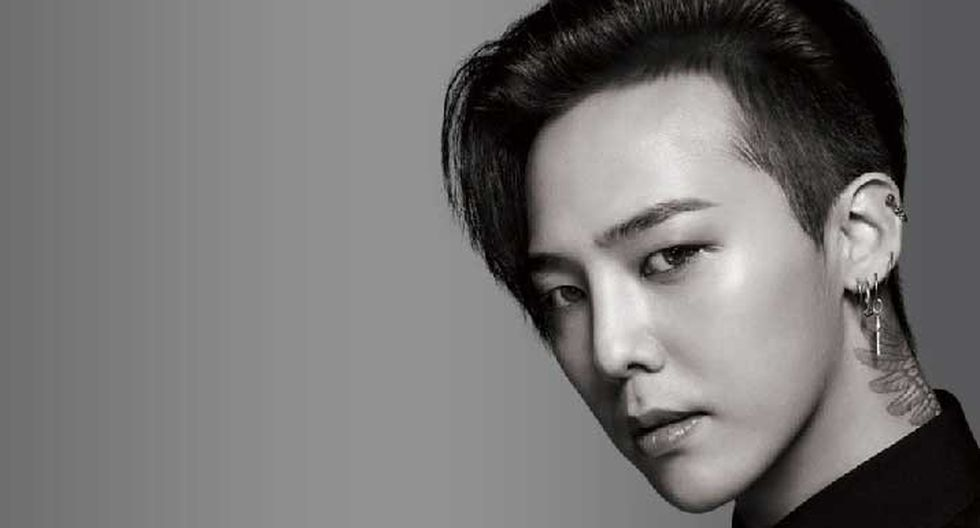 G-Dragon es el líder de la banda Big Bang. Foto: YG Entertainment.