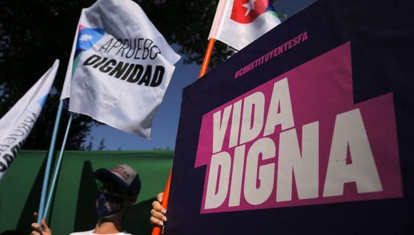 Chile posterga hasta mayo las elecciones constituyentes debido al agravamiento de la pandemia de coronavirus. (Foto: JAVIER TORRES / AFP).