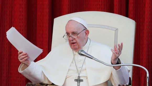 El papa Francisco mostró su apoyo a la unión civil entre personas del mismo sexo. (REUTERS)