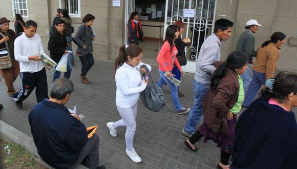 El hospital Loayza atiende con normalidad, según el Minsa