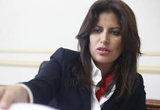 """Carmen Omonte sobre vacancia de Vizcarra: """"La bancada asumió la decisión, pero no era la voluntad de César Acuña"""""""