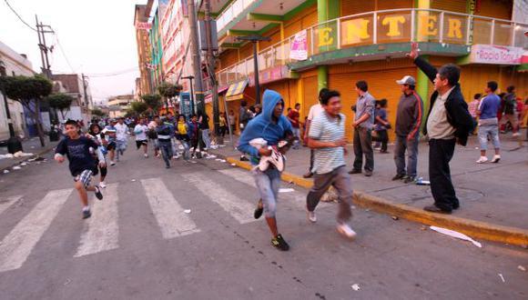 Trujillo: Mininter anuncia captura de incitador de saqueos