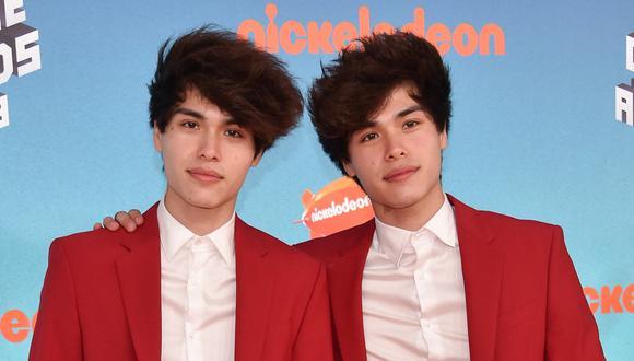Los hermanos gemelos Alan y Alex Stokes. (Chris Delmas / AFP).