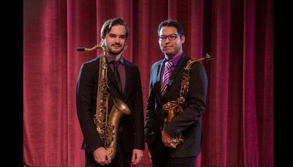 Lorenzo Ferrero y Aníbal Seminario, fundadores y líderes de Afro-Peruvian Jazz Orchestra. (Foto: Winney Dawson)