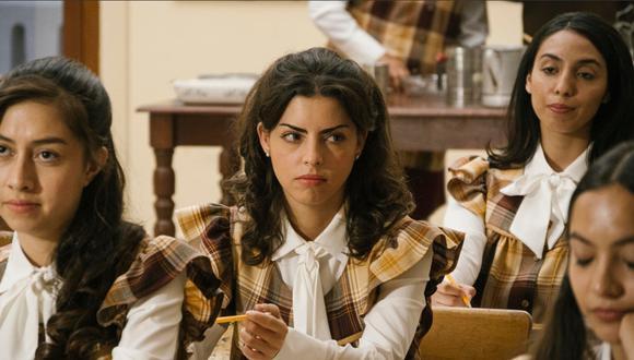 Isabel Burr es la actriz que sucede a Verónica Castro en la interpretación de Virginia de la Mora durante su juventud. (Foto: Netflix)