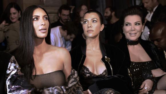 """Kim Kardashian, Kourtney Kardashian y Kris Jenner entregaron relojes rolex de 10 mil dólares a los integrantes del equipo de producción """"Keeping up with the Kardashians"""". (Foto referencial: Alain Jocard / AFP)"""