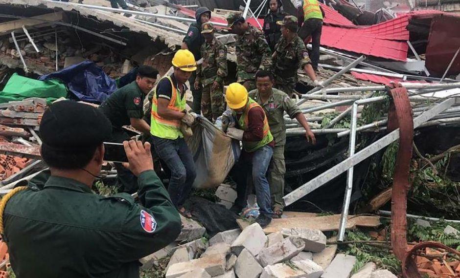 Las autoridades provinciales de Preah Sihanouk elevaron el balance a 24 muertos, con una cantidad similar de heridos. (Foto: AFP)