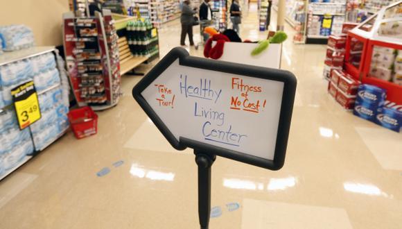 Un supermercado de Nueva York abre un gimnasio gratuito