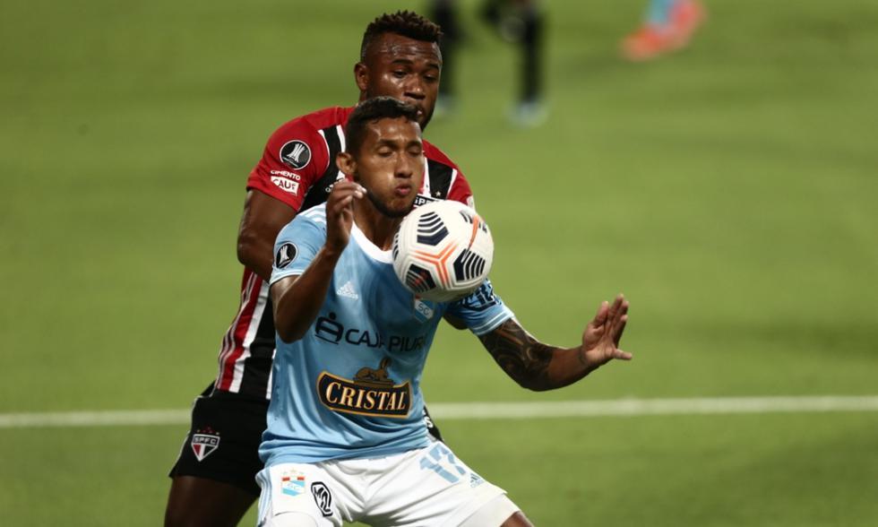 Sporting Cristal y Sao Paulo se enfrentaron en el estadio Nacional por Copa Libertadores | Foto: GEC