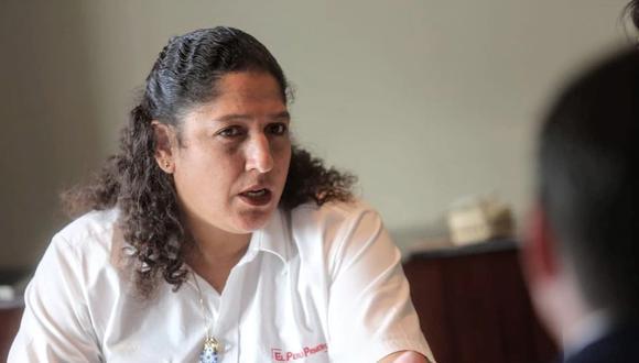 La ministra de Ambiente, Fabiola Muñoz. (Foto: Minagri)