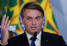 "Bolsonaro asegura que ""quedarse en casa"" para evitar coronavirus es para débiles"